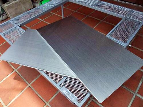 囲炉裏テーブル(ロゴス)カスタム
